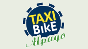 logo Taxi Bike Alpago