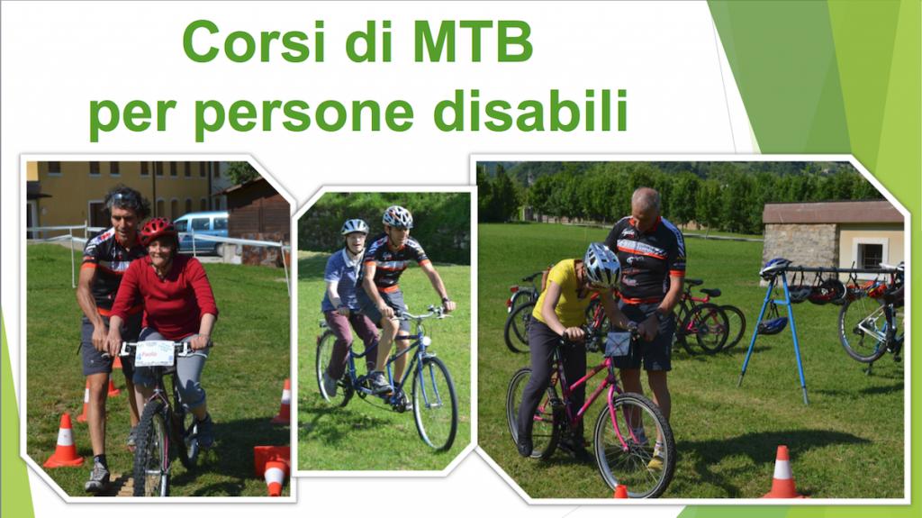 Corsi MTB per persone disabili