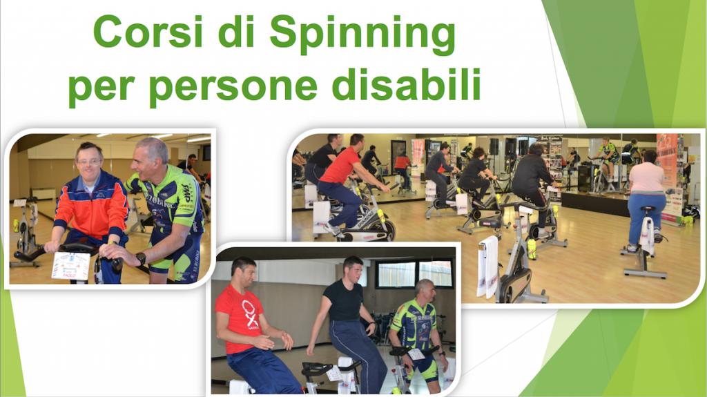Corsi di Spinning per persone disabili