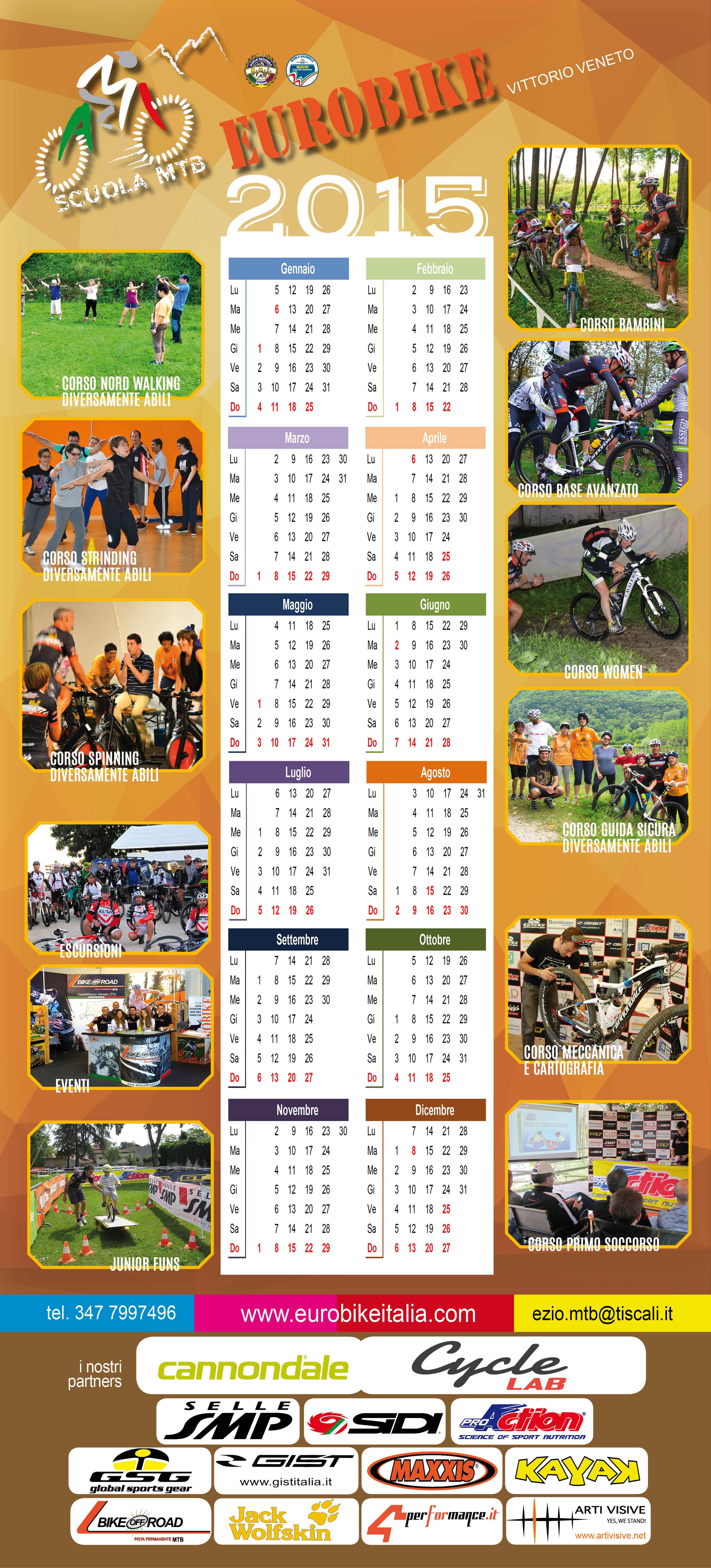 Calendario Eurobike  2015