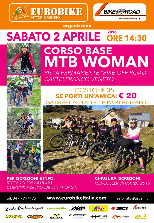 Corso base MTB per donne - aprile 2016