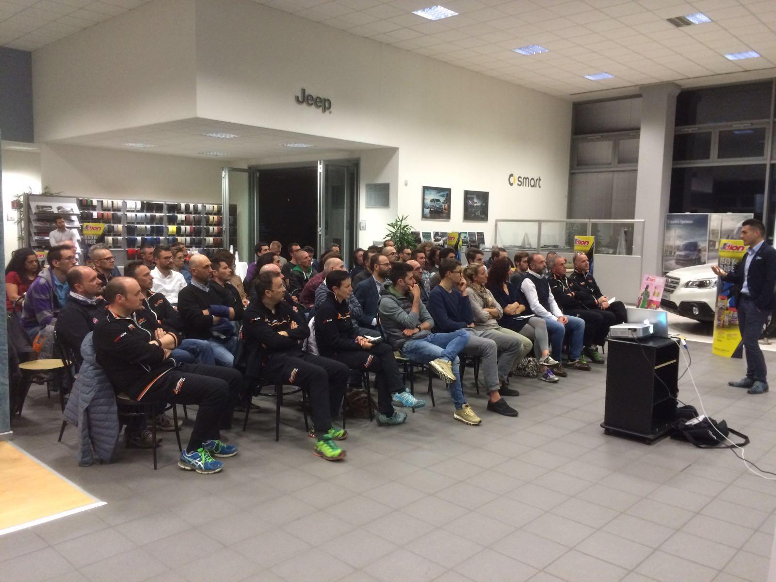 18 aprile 2016: seminario sulla nutrizione sportiva nel ciclismo