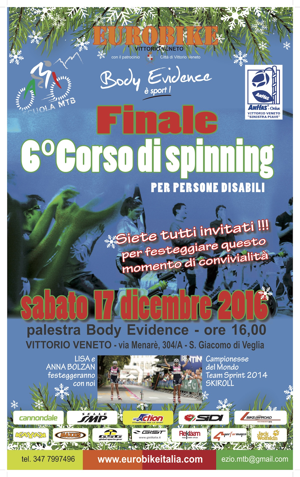Locandina Finale Corso Spinning 2016
