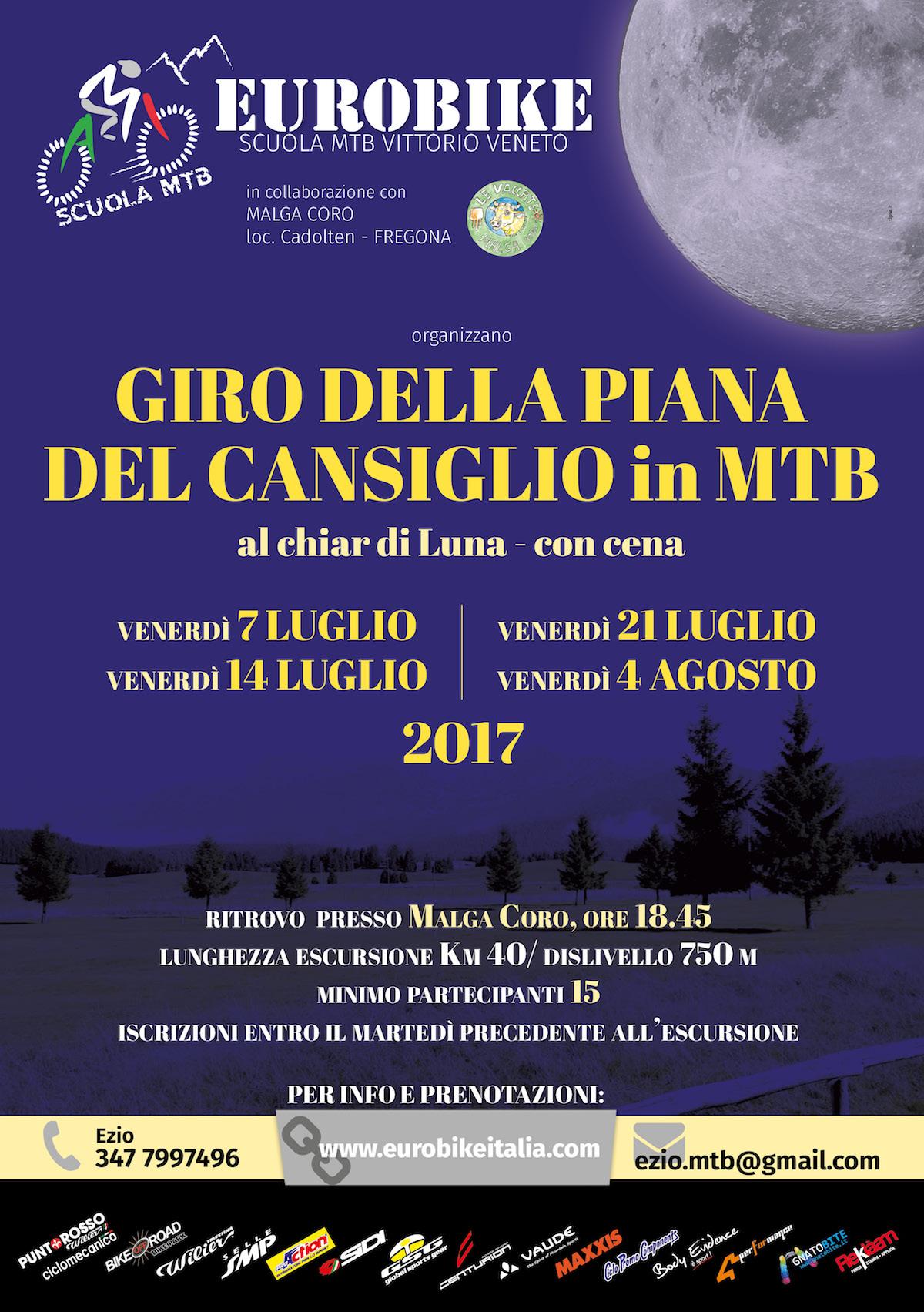 Calendario Luglio Agosto.Cansiglio Al Chiar Di Luna Calendario Luglio Agosto 2017