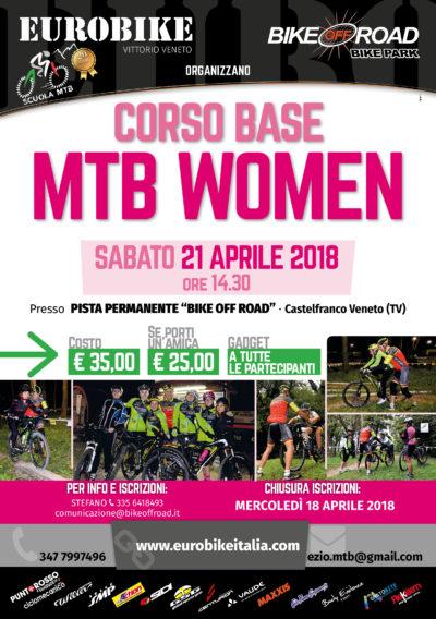 CORSO BASE MTB DONNE 21.04.2018