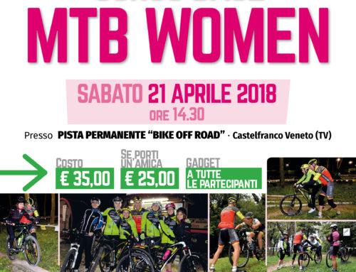 21 aprile 2018: CORSO BASE MTB WOMEN