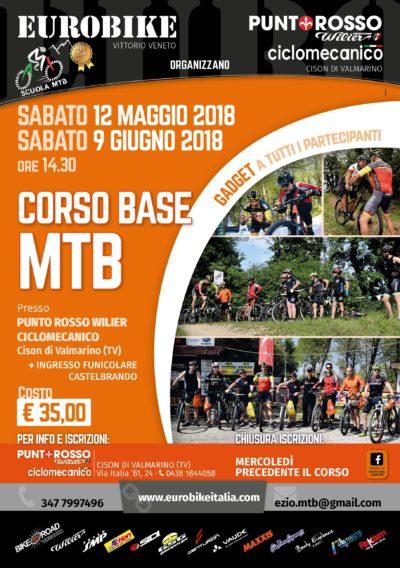 Corsi Tecnica Base MTB maggio-giugno 2018 da Castelbrando