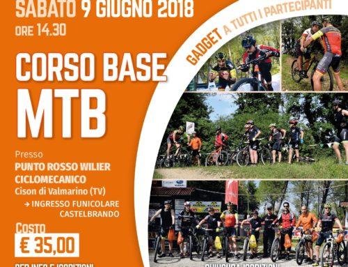 12/05/2018 e 09/06/2018: Corsi Base MTB da Castelbrando – Cison di Valmarino