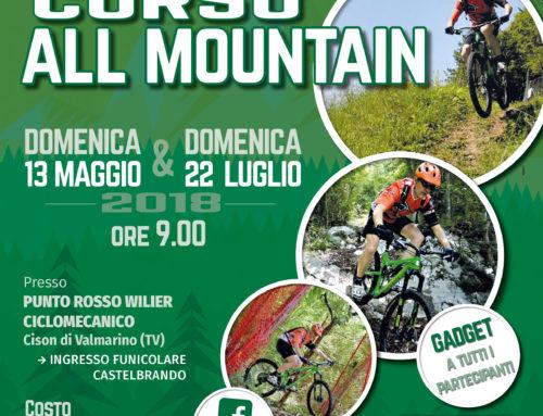 Domenica 13 maggio: Corso All Mountain