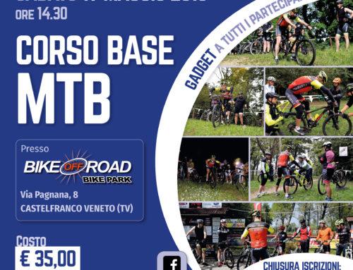 19 maggio 2018: Corso Base MTB presso BIKE OFF ROAD Bike Park a Castelfranco Veneto