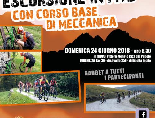 24 giugno 2018: Escursione in MTB con Corso Base di Meccanica