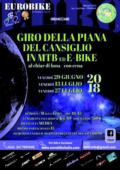 Escursione notturna Piana Cansiglio