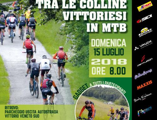 15/07/2018: escursione sulle colline del Vittoriese in MTB