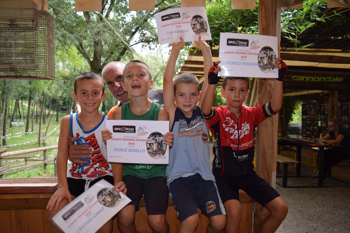 31.07.2018 Eurobike Piccoli Junior Training Experience finale