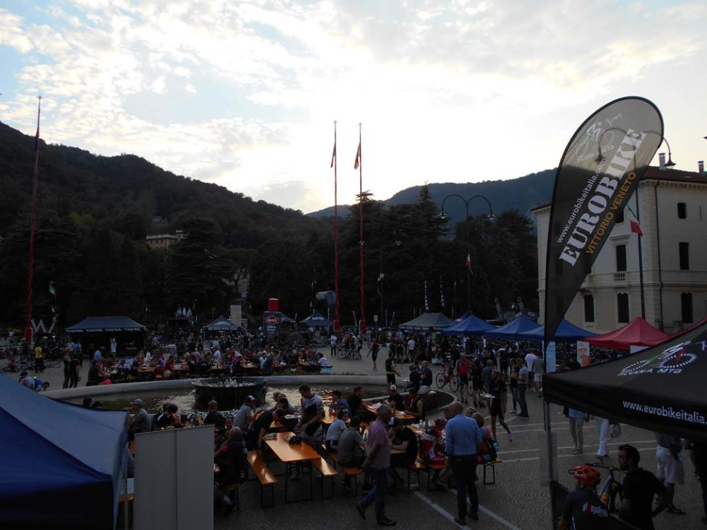 14.09.2018 Eurobike all'evento Tour de Friends a VittorioVeneto