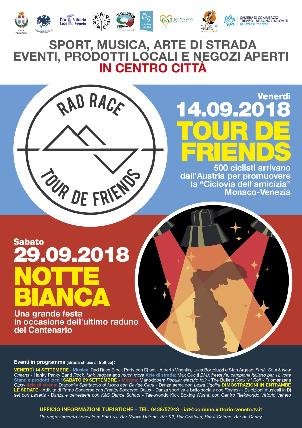 14.09.2018 TOUR DE FRIENDS - Vittorio Veneto