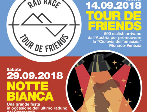14/09/2018: TOUR DE FRIENDS a Vittorio Veneto