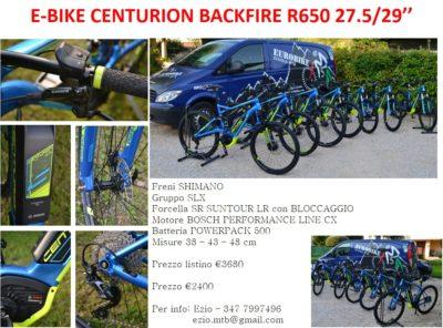 Eurobike occasioni e-bike Centurion
