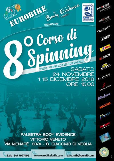 Eurobike 8° corso di spinning per disabili