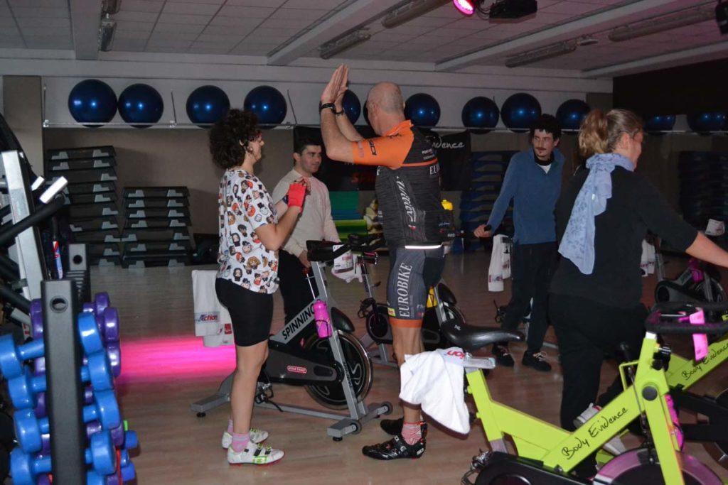 01.12.2018 2a lezione Corso Spinning per disabili