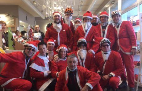 23 dicembre 2018: Giro di Natale con G.S. Freetime e aperitivo presso Fraccaro Café