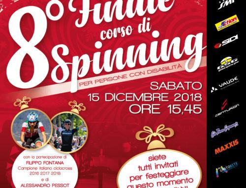 15 dicembre 2018: FINALE dell'8° Corso di Spinning per persone disabili