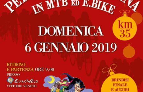06.01.2019 Eurobike Pedalata della Befana Locandina