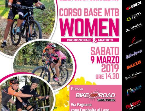 9 marzo 2019: Corso Base MTB WOMEN