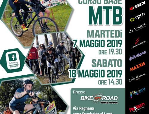 7 e 18 maggio 2019: Corsi Base MTB