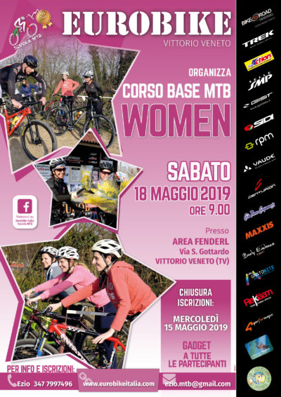Eurobike CORSO BASE WOMAN 2019 Vittorio Veneto