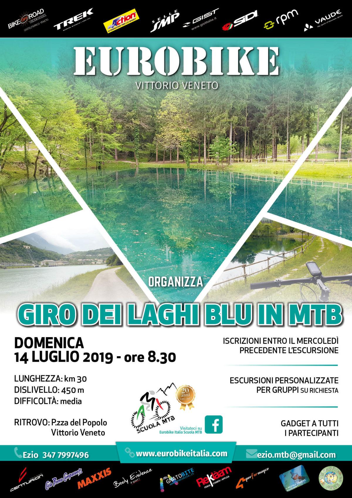 14.07.2019 Giro dei Laghi Blu in MTB Escursione
