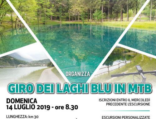 """14/07/2019: Escursione """"GIRO DEI LAGHI BLU IN MTB"""""""