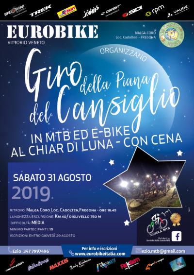 31.08.2019 Giro della Piana del Cansiglio al Chiar di Luna