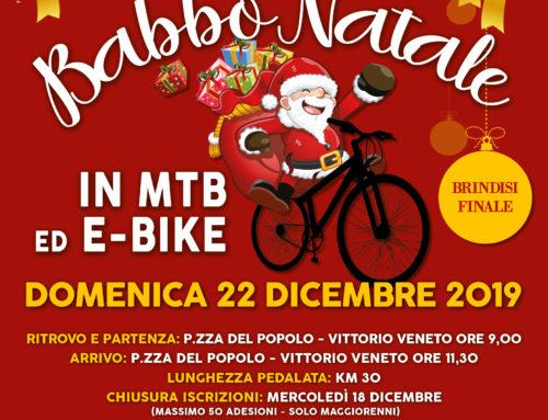 22/12/2019: BABBO NATALE IN MTB E E-BIKE