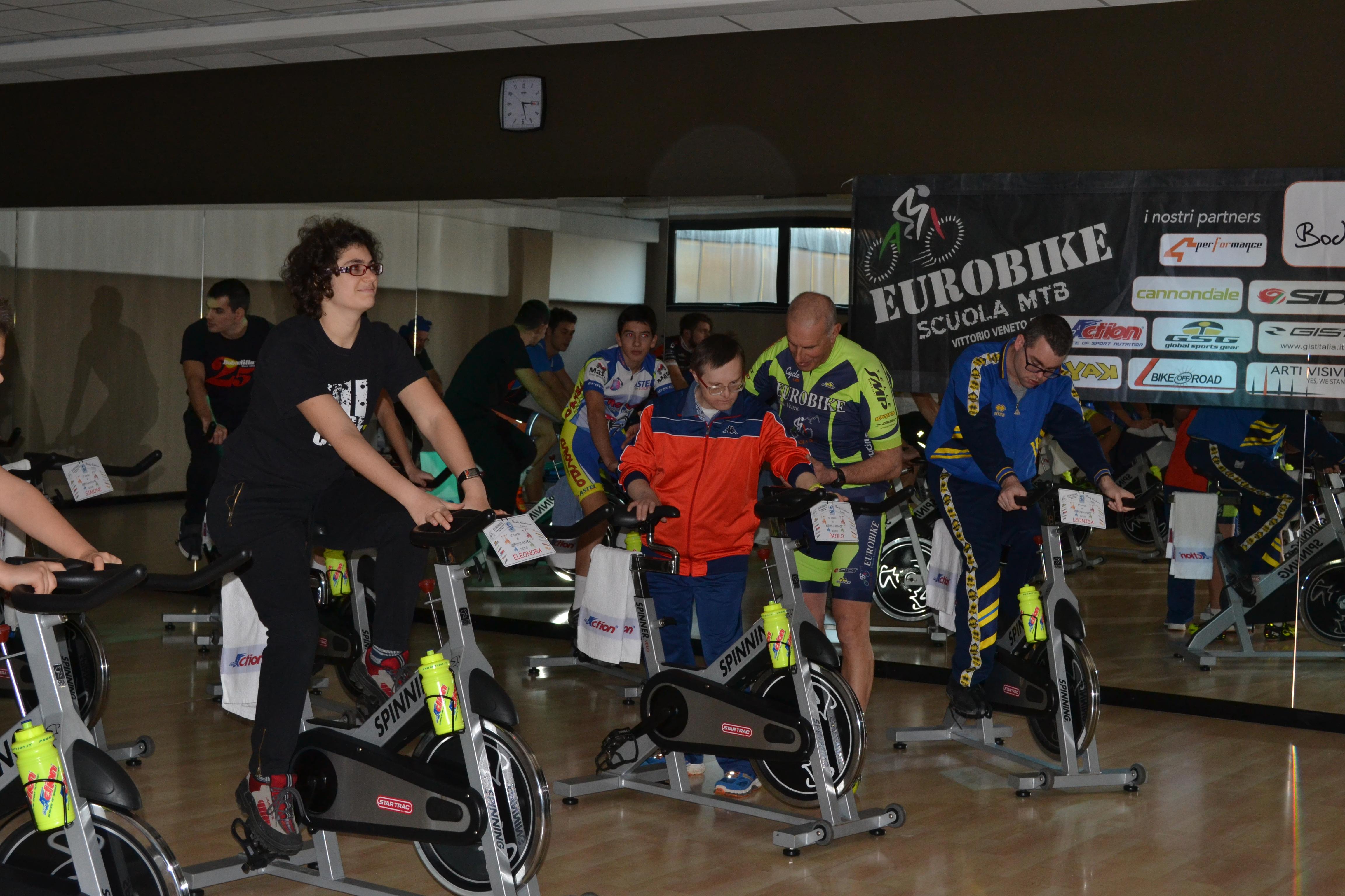 Finale 5° Corso di Spinning per persone disabili
