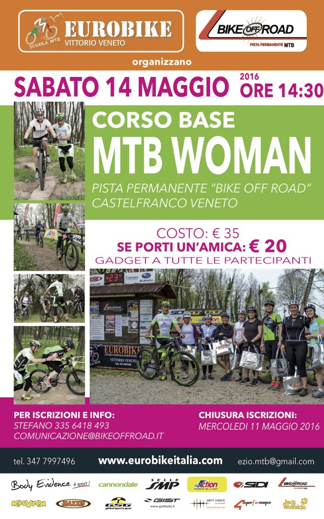 Corso Base MTB Donne - 14 maggio 2016