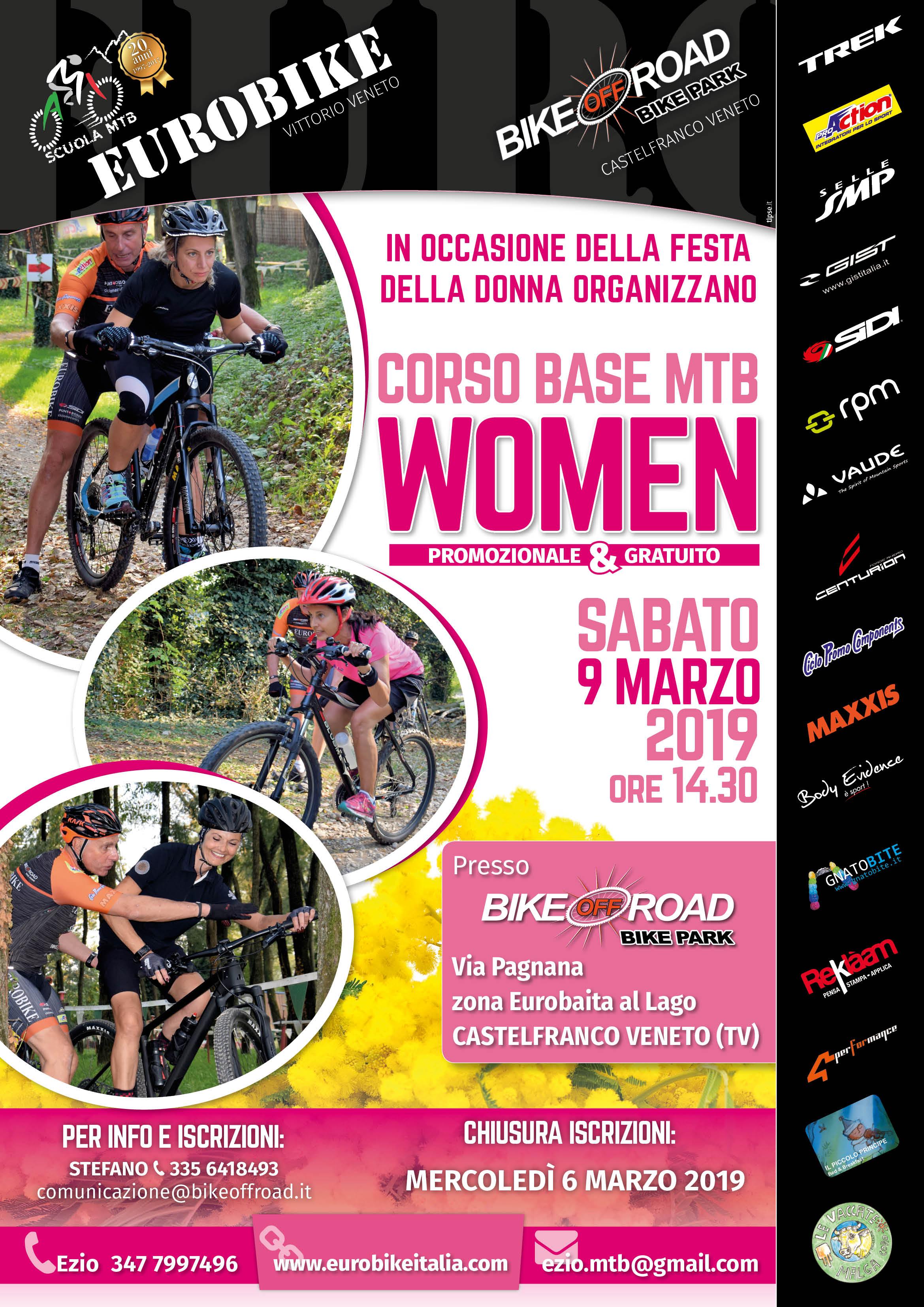 09.03.2019 Corso Tecnica Base MTB Woman