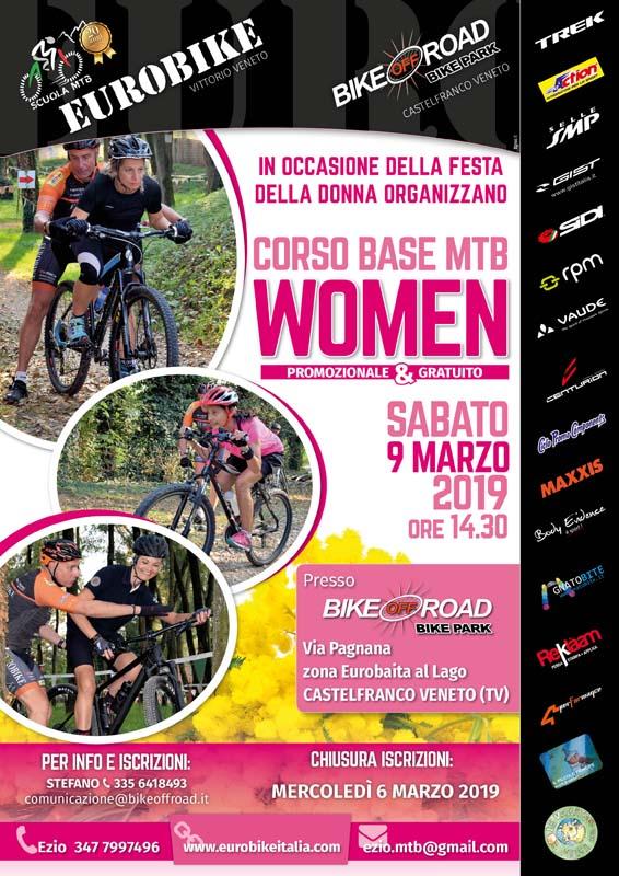 09.03.2019 Corso Tecnica Base MTB Donne