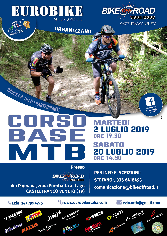 Eurobike CORSO BASE MTB luglio 19