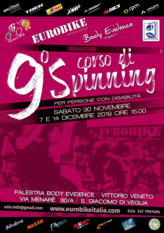9° Corso Spinning per Disabili Eurobike e Body Evidence