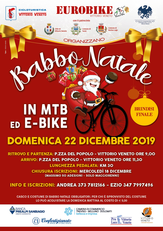 Locandina di Babbo Natale 2019