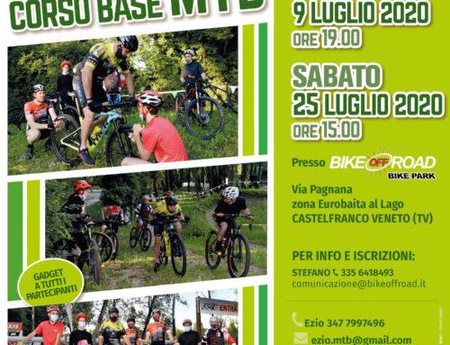 Programma Corsi Base MTB di Luglio 2020