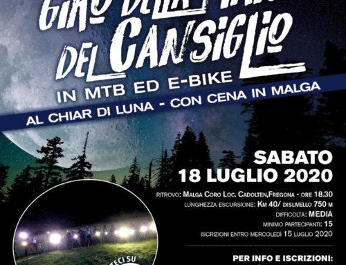 18.07.2020 Escursione Notturna in Cansiglio al Chiar di Luna con Cena in Malga Coro