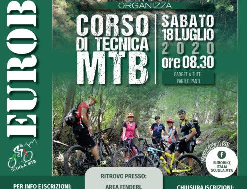 18 luglio 2020: Corso Tecnica MTB – Vittorio Veneto