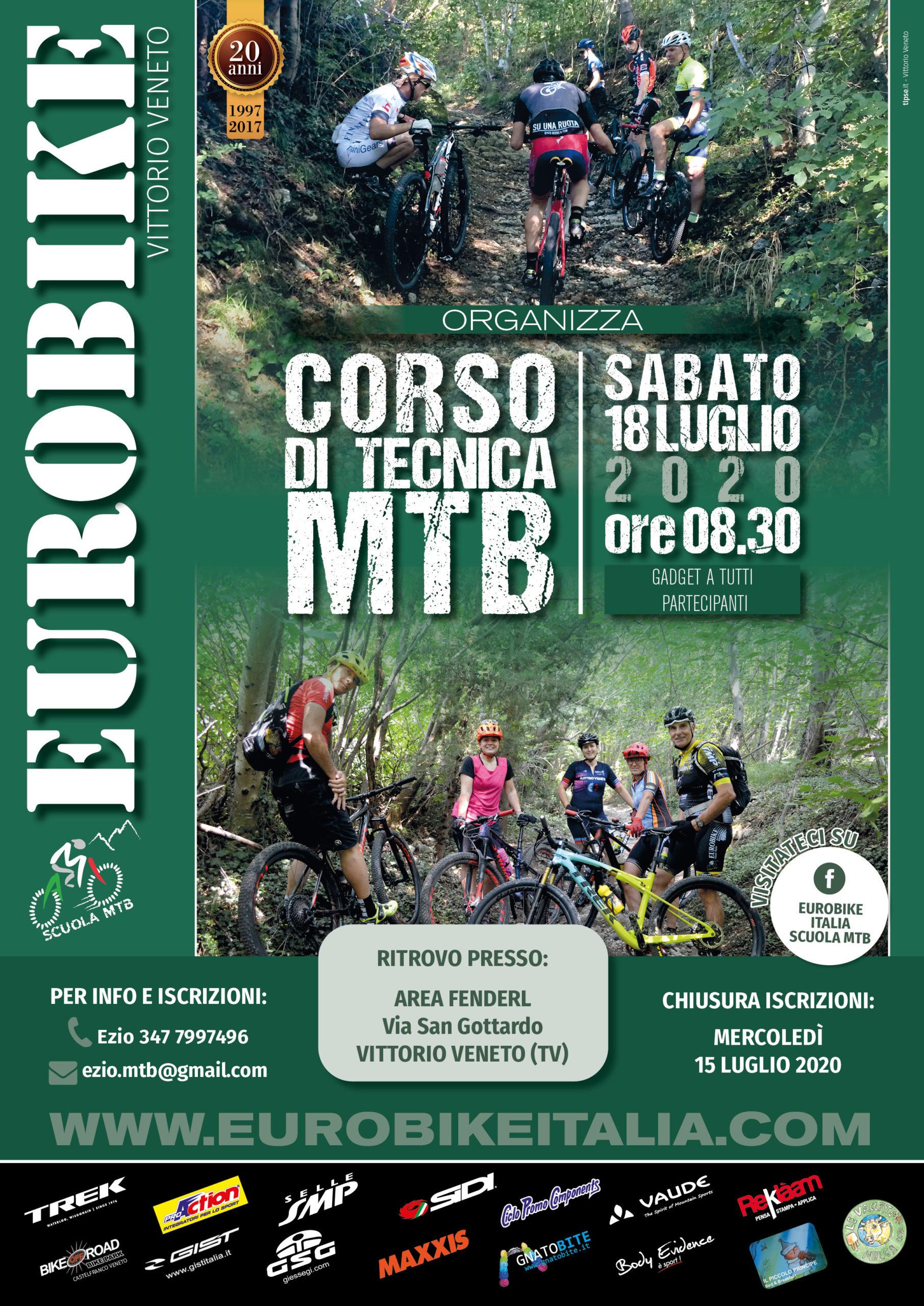 18/07/2020 CORSO TECNICA MTB 2020