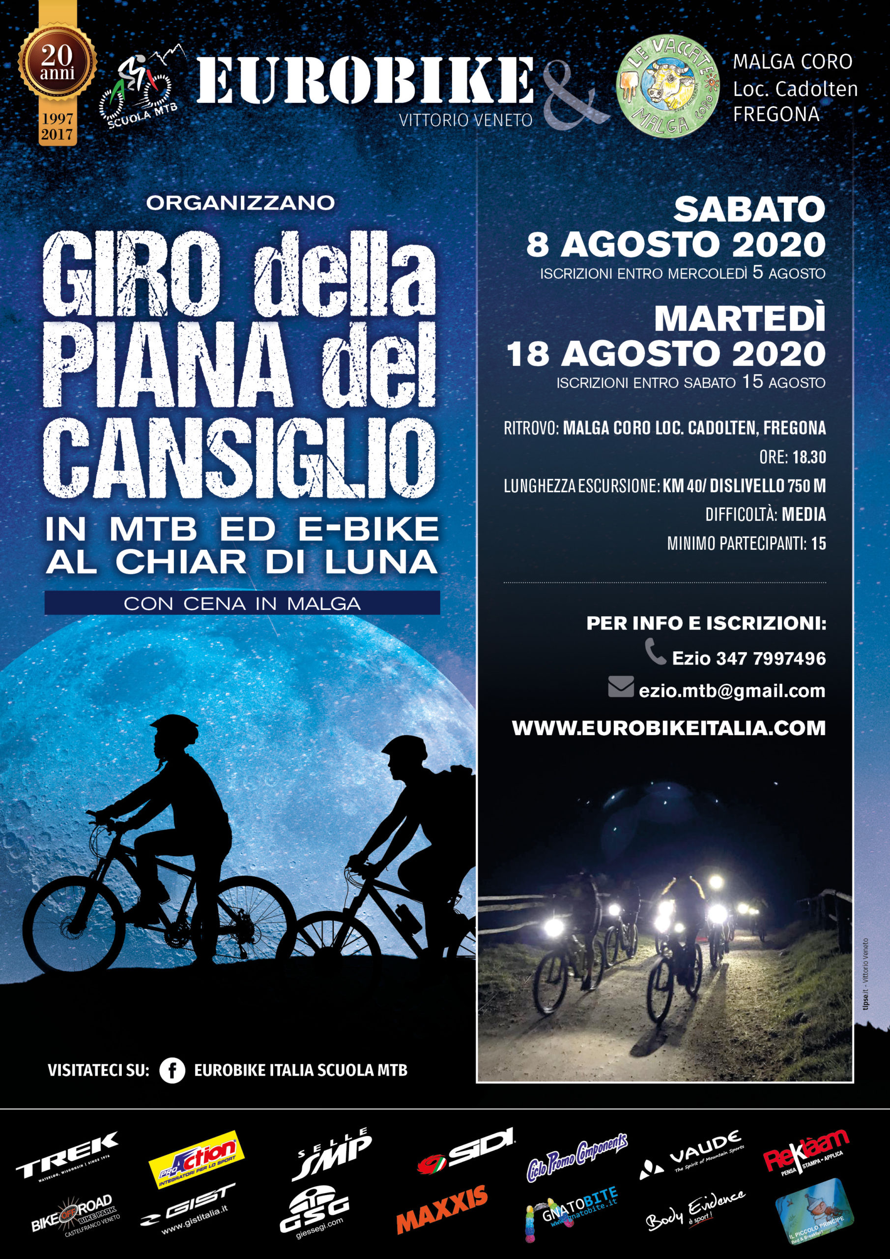 Agosto 2020: Notturna in Cansiglio