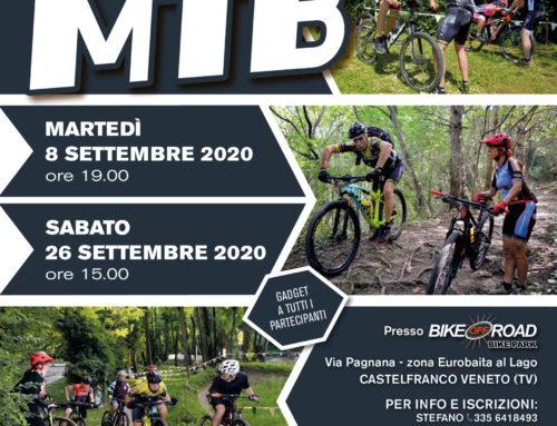Nuovi Corsi MTB Base mese di Settembre 2020