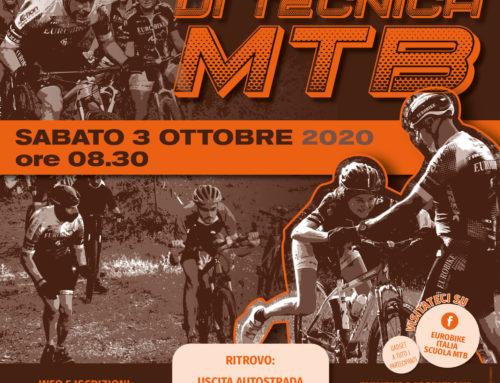 03 Ottobre 2020: Nuovo Corso TECNICA MTB