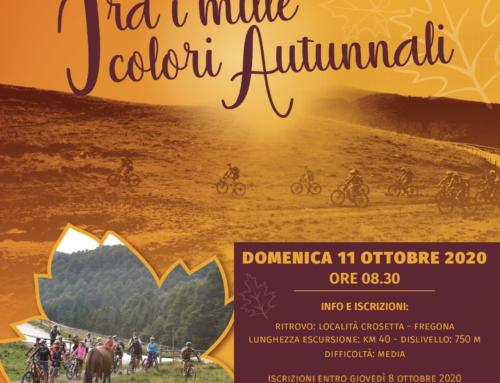 11/10/2020  Escursione in Cansiglio in MTB e E-BIKE