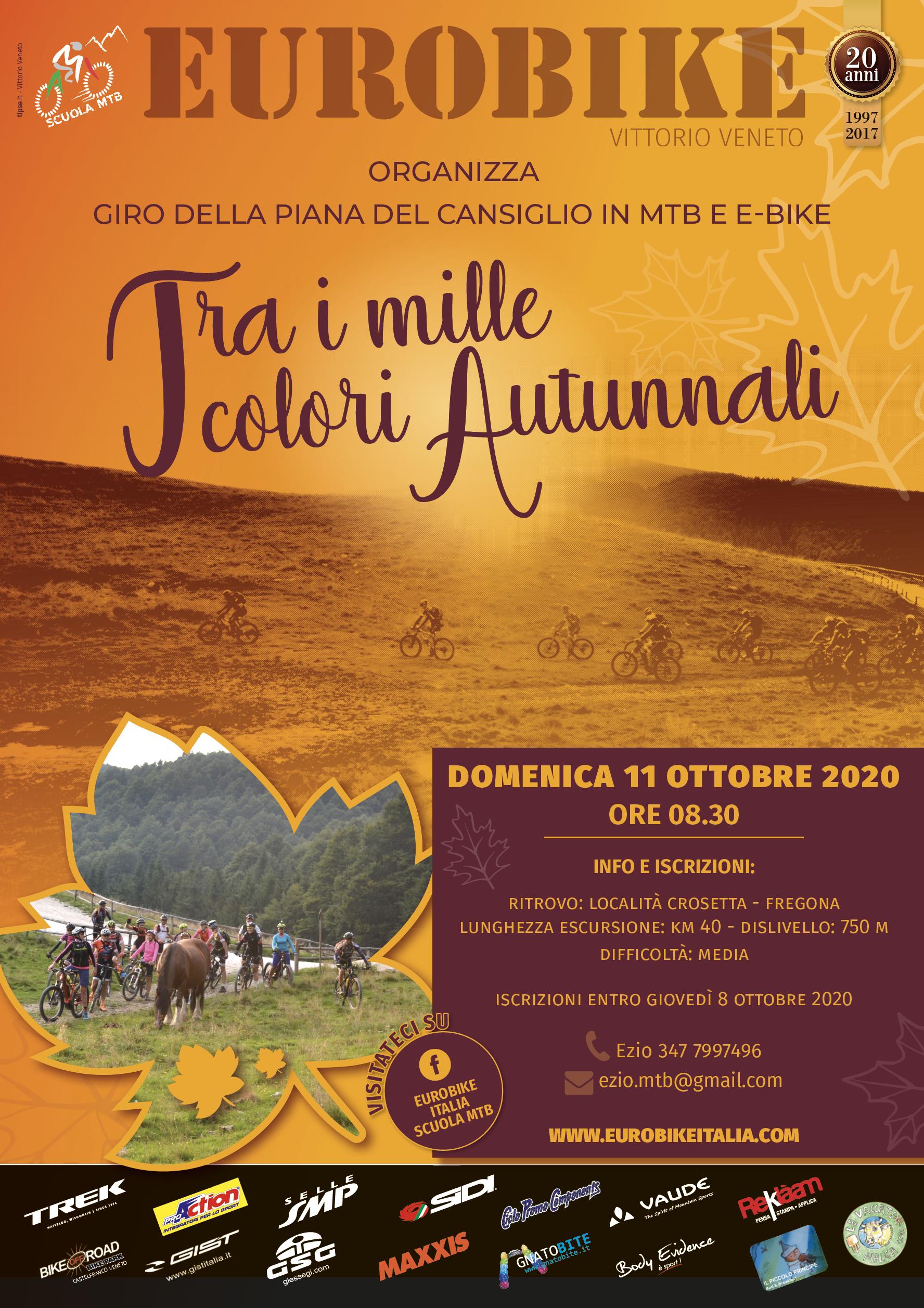 11.10.2020 Eurobike in Cansiglio